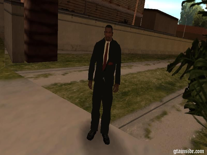 Gta San Andreas Suit For Cj Mod Gtainside Com