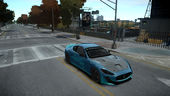Maserati GranTurismo MC 2009 Paint Job