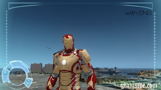 Ironman 3 Mark 42 Armor (PED) v2