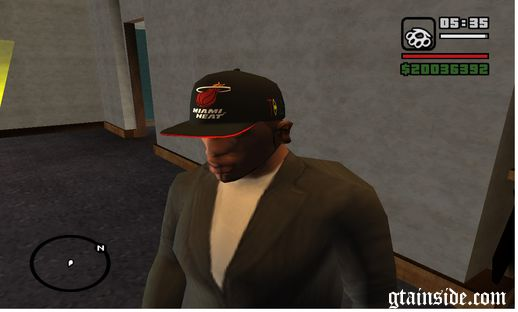 Miami Heat Hat Tisa