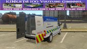 British Manchester Police Ford Transit