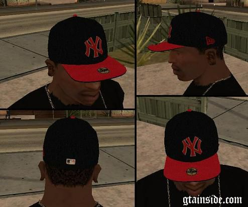 NEW ERA Cap Black Scarlet