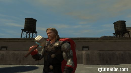 Thor *With Thor's Hammer Mjolnir* (PED)