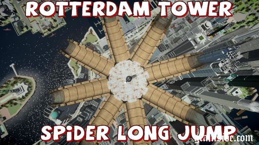 Rotterdam Tower Spider Long Jump