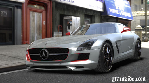Mercedes Benz SLS AMG Aige-edit Paintjob