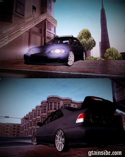 Honda Civic 1999 Edit