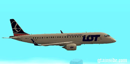 LOT Polish Airlines Embraer EMB-195