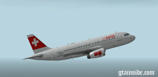 Swiss INTL Airbus A319