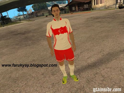 Mesut Özil Turkish Football Uniform