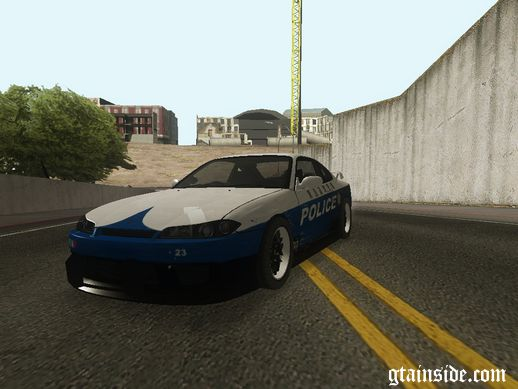 Nissan Silvia S15 Touge Cop Edition
