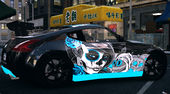 Nissan 370z Paintjob by eXTaron