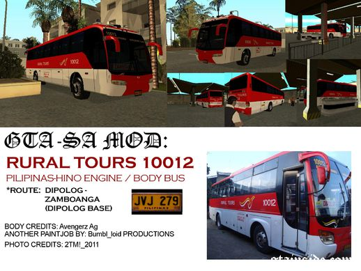 Rural Tours 10012 (Old Livery)