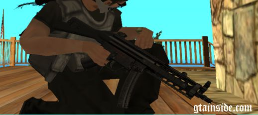 MP5A4 Modern Warfare 3