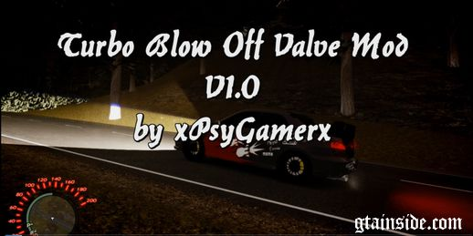Turbo Blow Off Valve Mod V1
