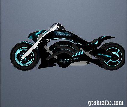 GTA San Andreas Predator Superbike TRON Texture Mod