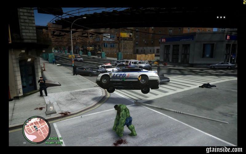 GTA 4 HULK script Mod - GTAinside com