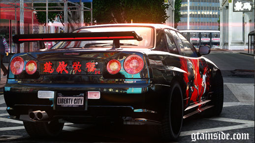 Nissan R34 Paintjob by eXTaron
