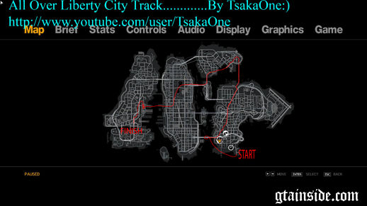 All over Liberty City Track