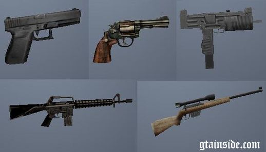 Manhunt Weapons