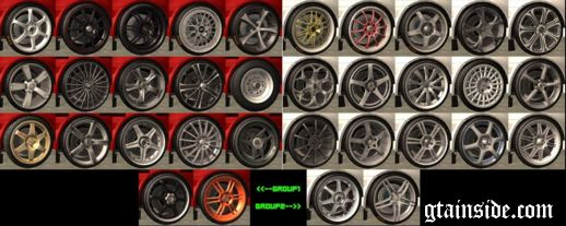 Wheels Pack