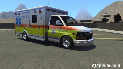 GMC Savana 2005 Ambulance