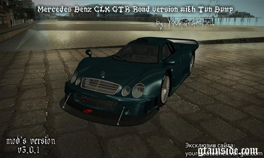 Mercedes-Benz CLK GTR - Road version with Tun Bump v3.0.1