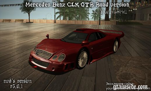Mercedes-Benz CLK GTR - Road version v3.0.1