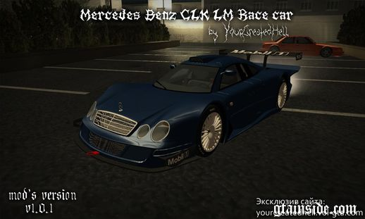 Mercedes-Benz CLK LM - Race Car, custom v1.0.1