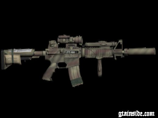 Medal Of Honor: Warfighter - MK18 old desert stripes