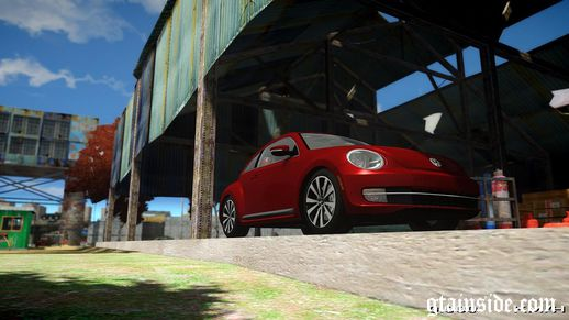 Volkswagen Beetle Turbo 2012