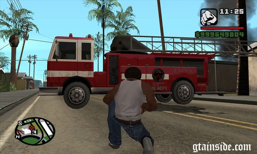 Indestructible Firetruck Savgame