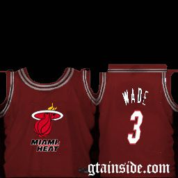 Miami Heat Jersey Shirt (Wade 3)