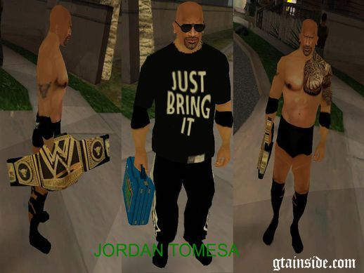 WWE THE ROCK Just Bring Mod 2013