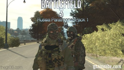 Battlefield 3 Russia Paratroopers Pack 1 (PEDS)