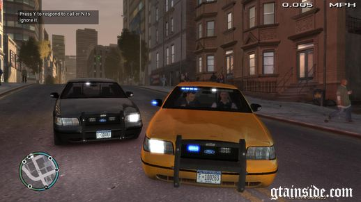 Ford Crown Victoria Undercover Taxi & FBI Car Mod [ELS]
