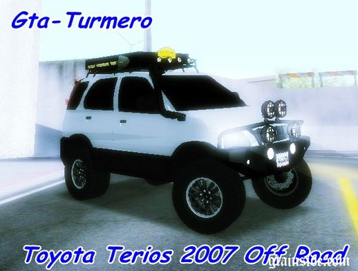 Toyota Terios 2007 Off Road