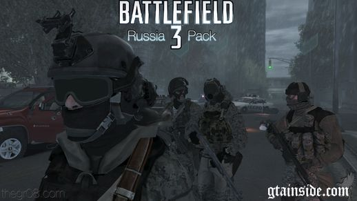 Battle Field 3 Russia Pack (PEDS)