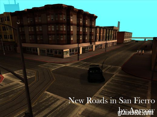 New Roads in San Fierro