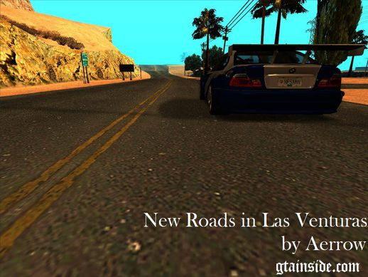 New Roads in Las Venturas