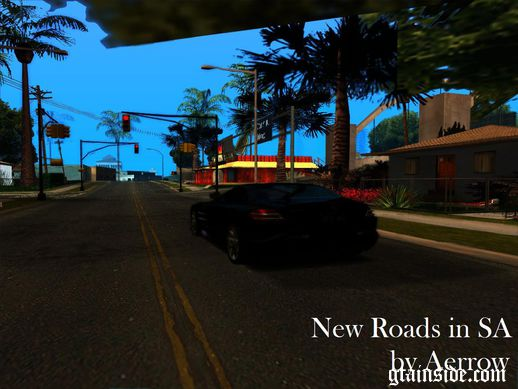 New Roads in Los Santos v1