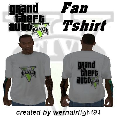 GTA 5 Fan Tshirt