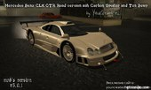 Mercedes-Benz CLK GTR - with Tun Bump and Carbon Spoiler v3.0.1