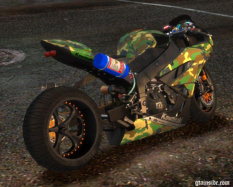GTA 4 Kawasaki Ninja ZX-6R (Ruff Ryders/stock) Mod - GTAinside com