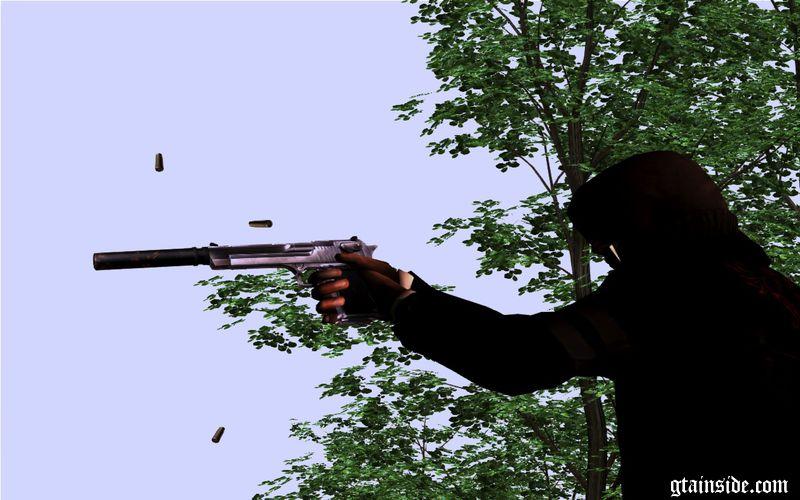 GTA San Andreas Desert Eagle Silencer Mod - GTAinside.com