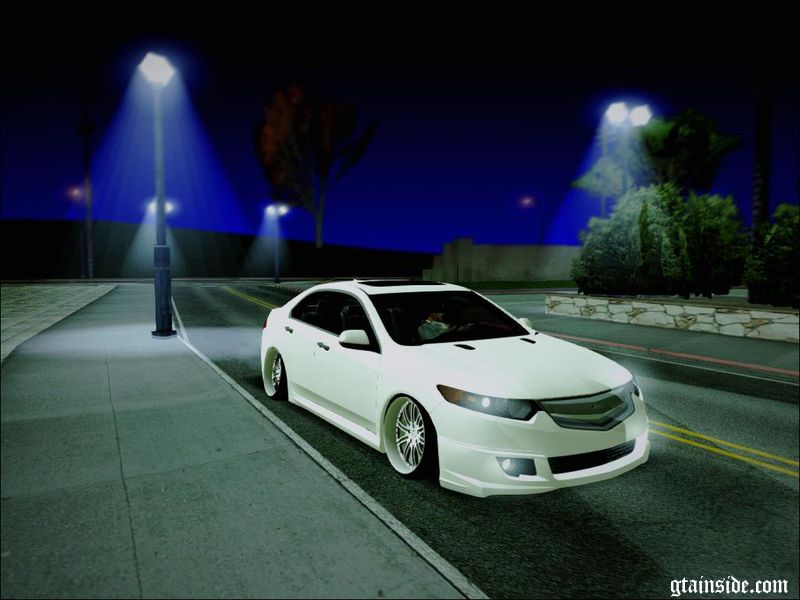 GTA San Andreas Acura TSX Mod GTAinsidecom - Acura tsx mods