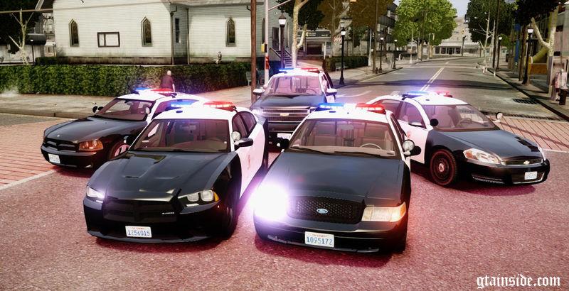 Gta 4 Los Angeles Police Department Vehicle Pack Els7