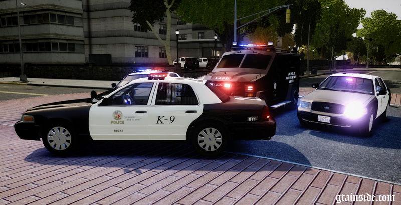 ... Los Angeles Police Department - Vehicle Pack ELS7