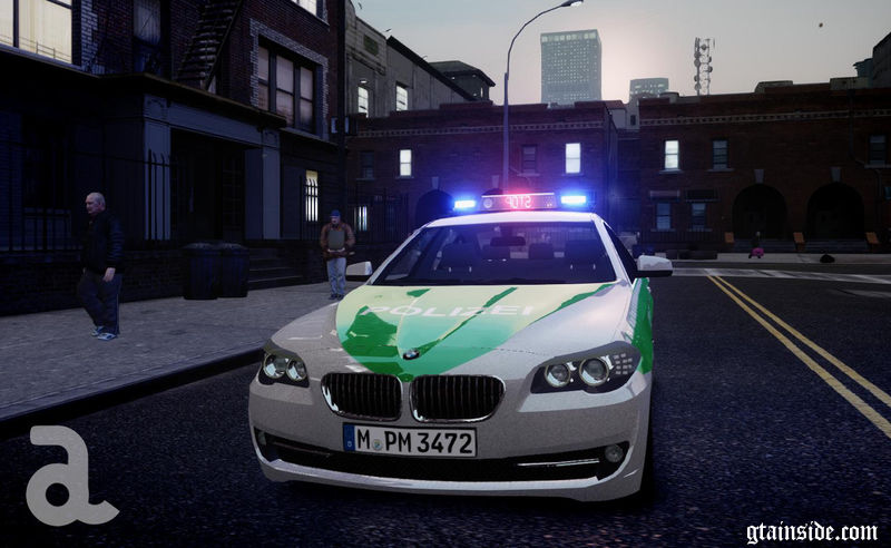 Gta 4 Bmw 5 Series F10 Polizei German Police Els7