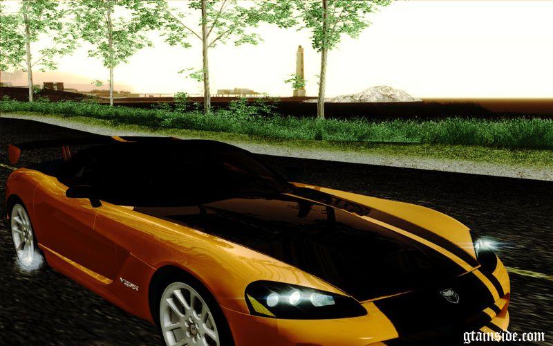 Gta San Andreas 2004 Dodge Viper Srt 10 Roadster Acr Mod