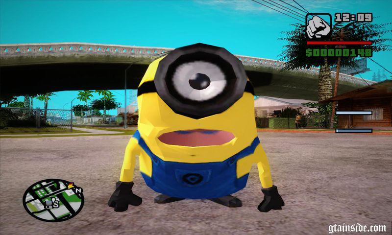 GTA San Andreas The Minion Mod - GTAinside com